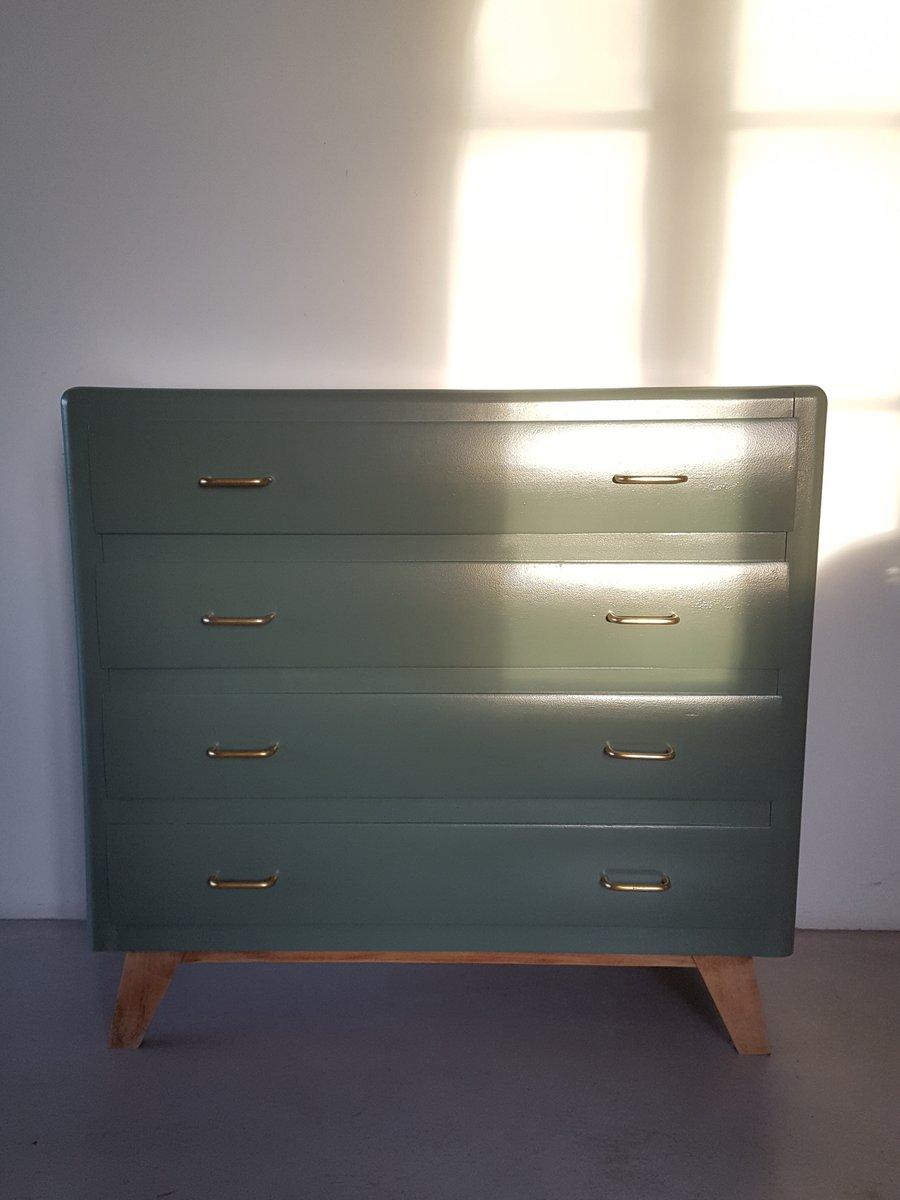 Grüne Kommode, 1950er