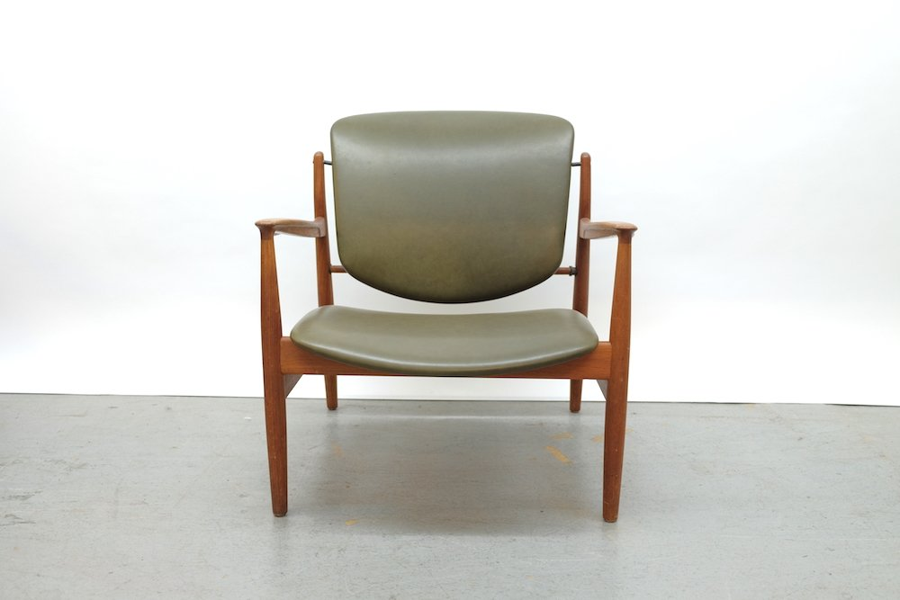Magnificent Teak Modell 136 Lounge Chair By Finn Juhl For France Son 1950S Pdpeps Interior Chair Design Pdpepsorg