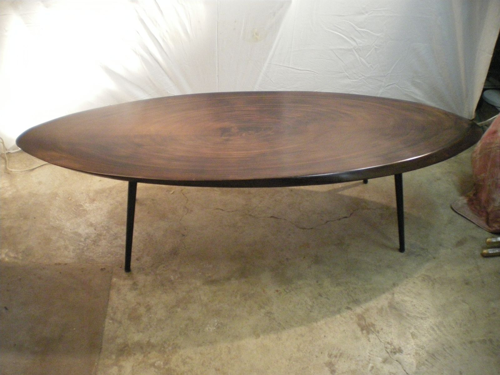 Solid Wood Coffee Table 1950s