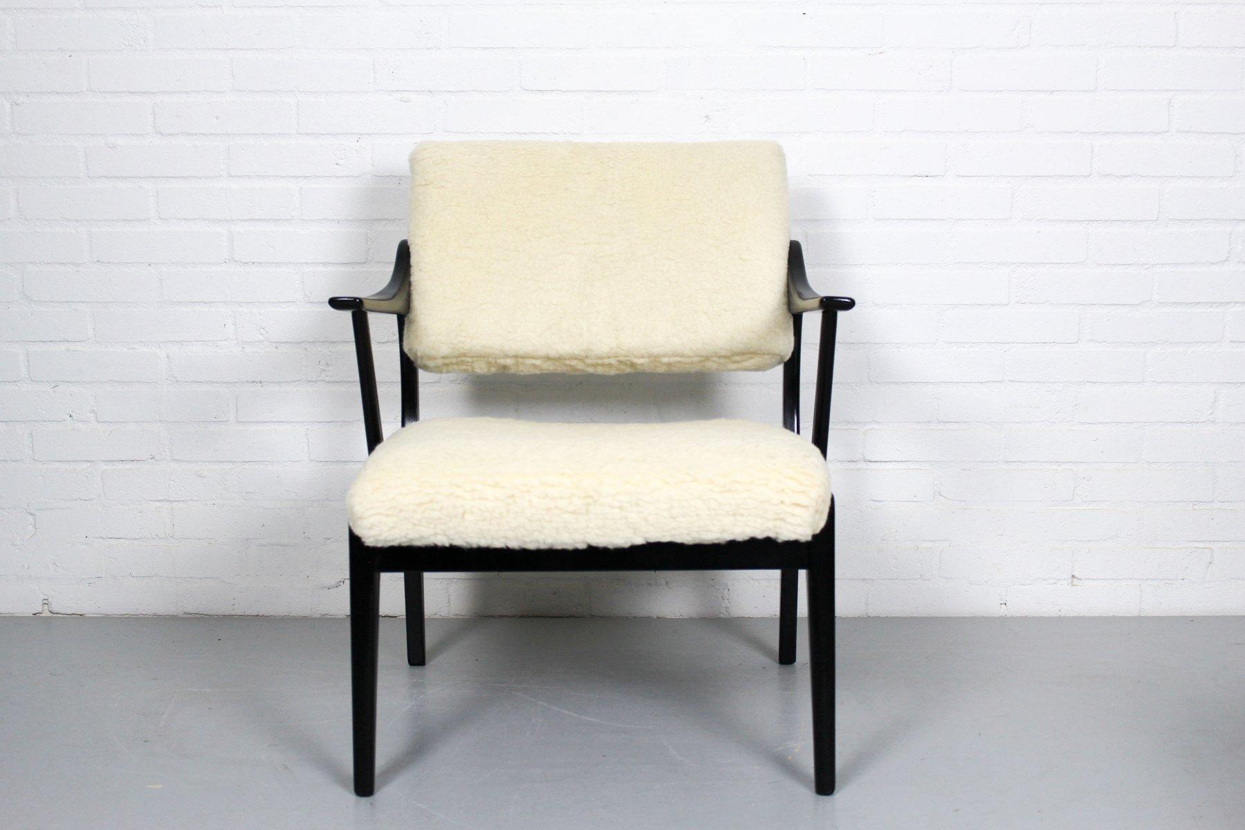 vintage st hle aus holz bezug aus merinowolle 2er set cafe konrad vib. Black Bedroom Furniture Sets. Home Design Ideas
