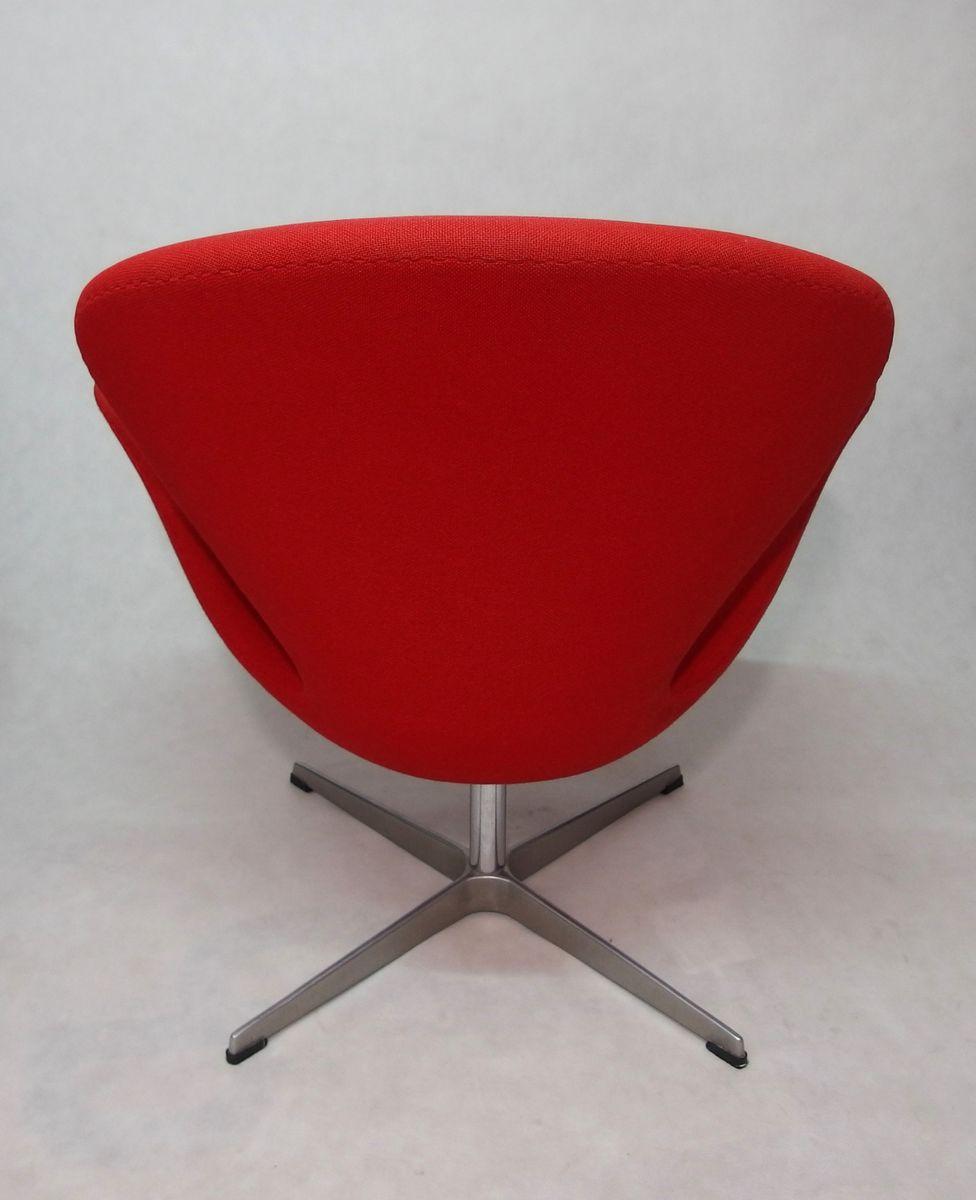 Vintage Swan Sessel Von Arne Jacobsen Fur Fritz Hansen Bei Pamono Kaufen
