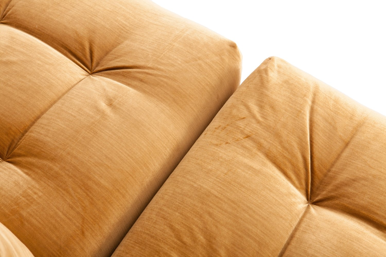 Genial Modulares Vintage Mah Jong Sofa Mit Goldenem Samtbezug Von Roche Bobois Bei  Pamono Kaufen