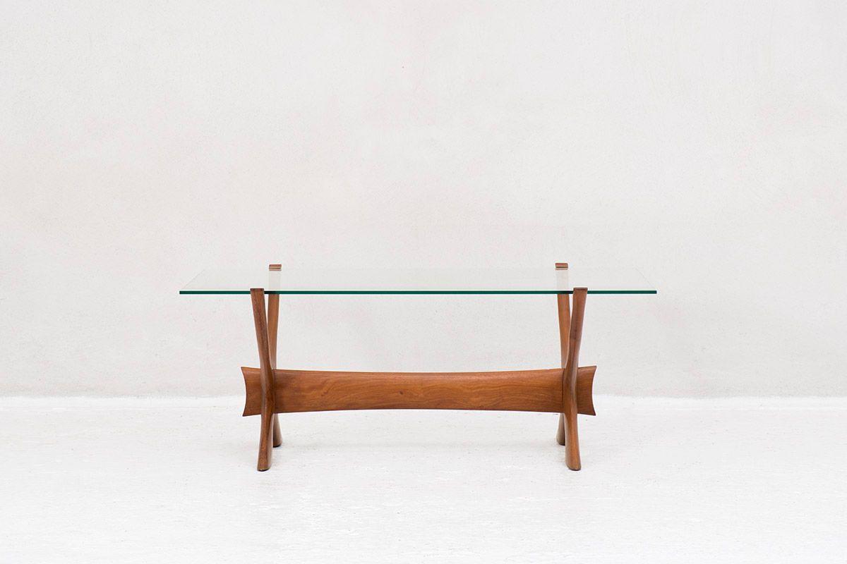 Model Condor Coffee Table by Frederik Schrieven-Abeln for Örebro Glass...