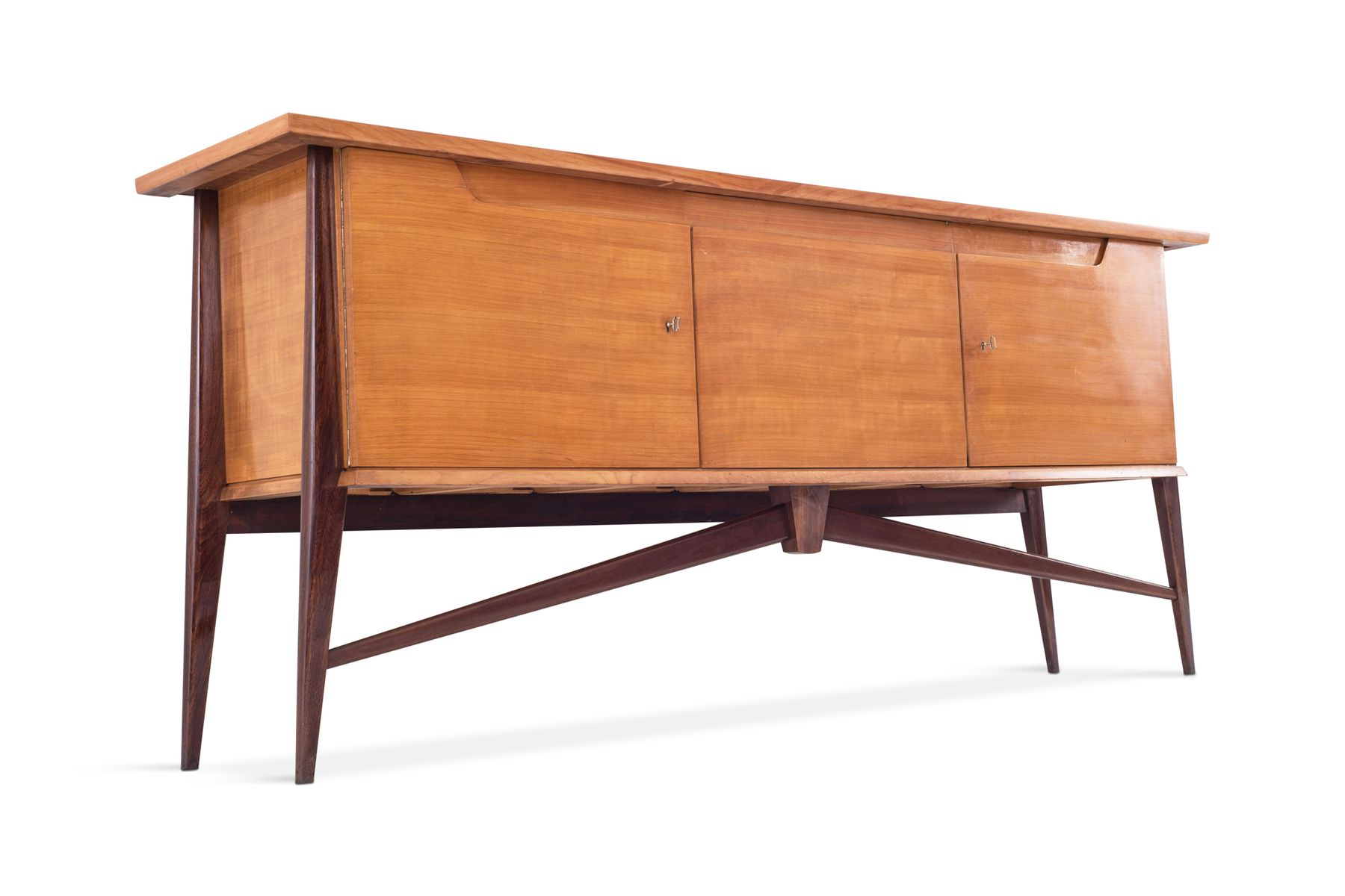 Credenza Moderna Bicolore : Credenza mid century moderna bicolore di de coene in vendita su pamono
