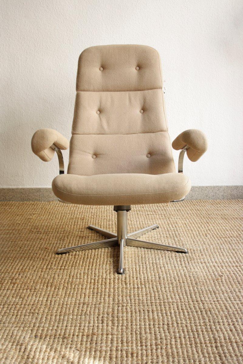 Swivel Lounge Chair, 1960s