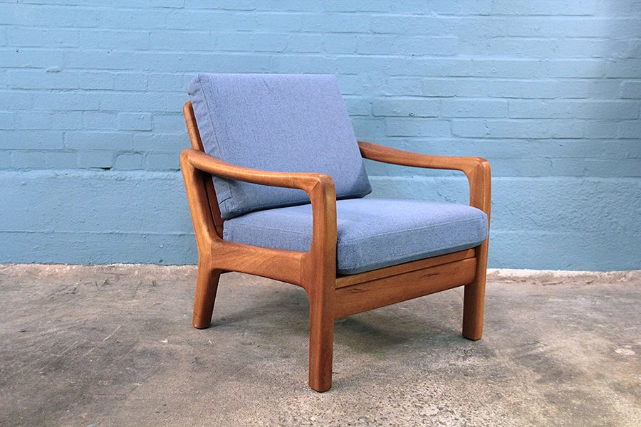Lounge Chair from Juul Kristensen, 1950s