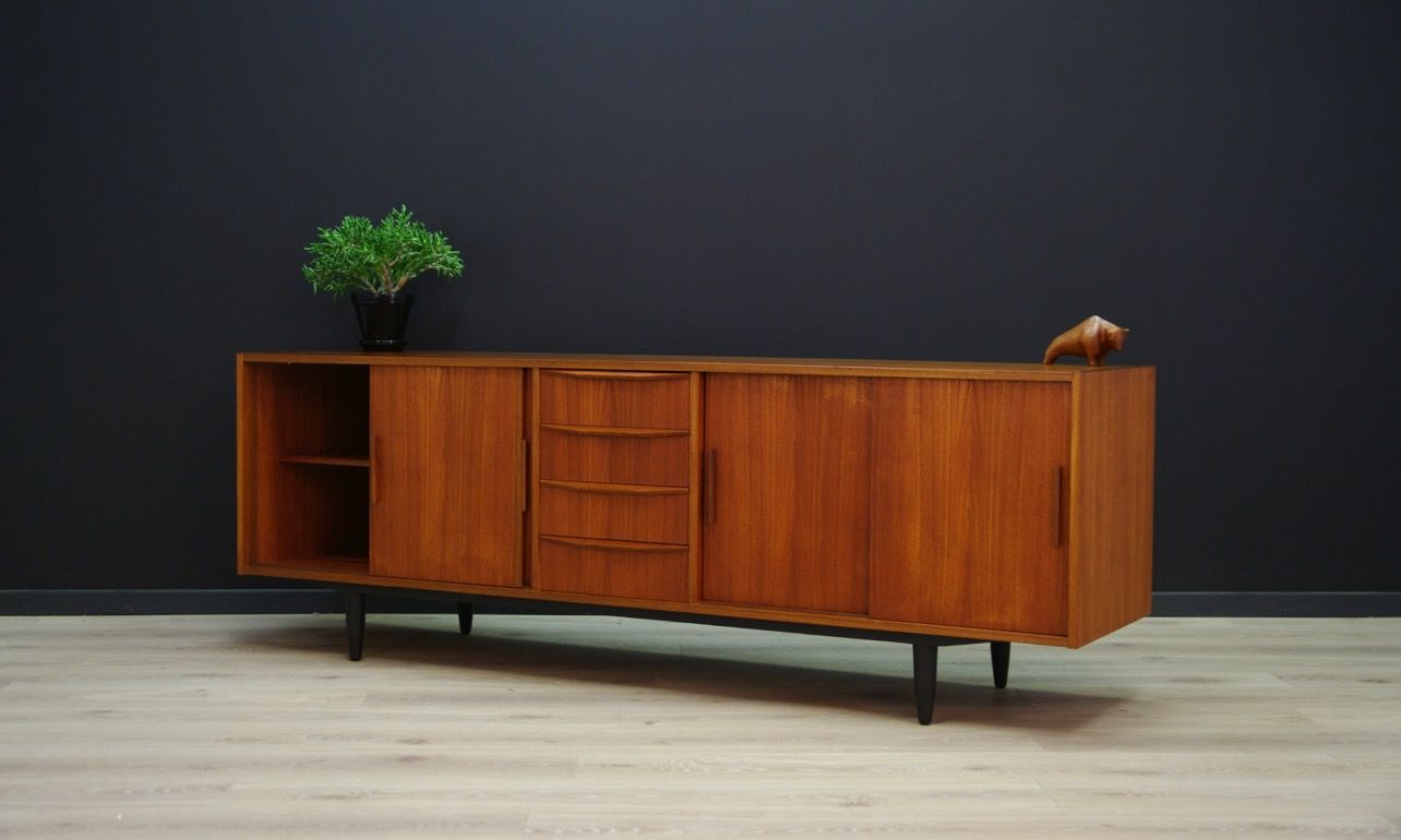 mid century danish sideboard for sale at pamono. Black Bedroom Furniture Sets. Home Design Ideas
