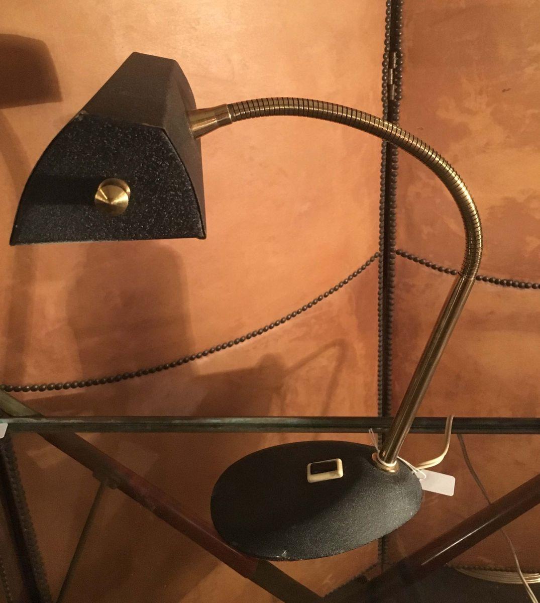 Flexible Vintage Tischlampe