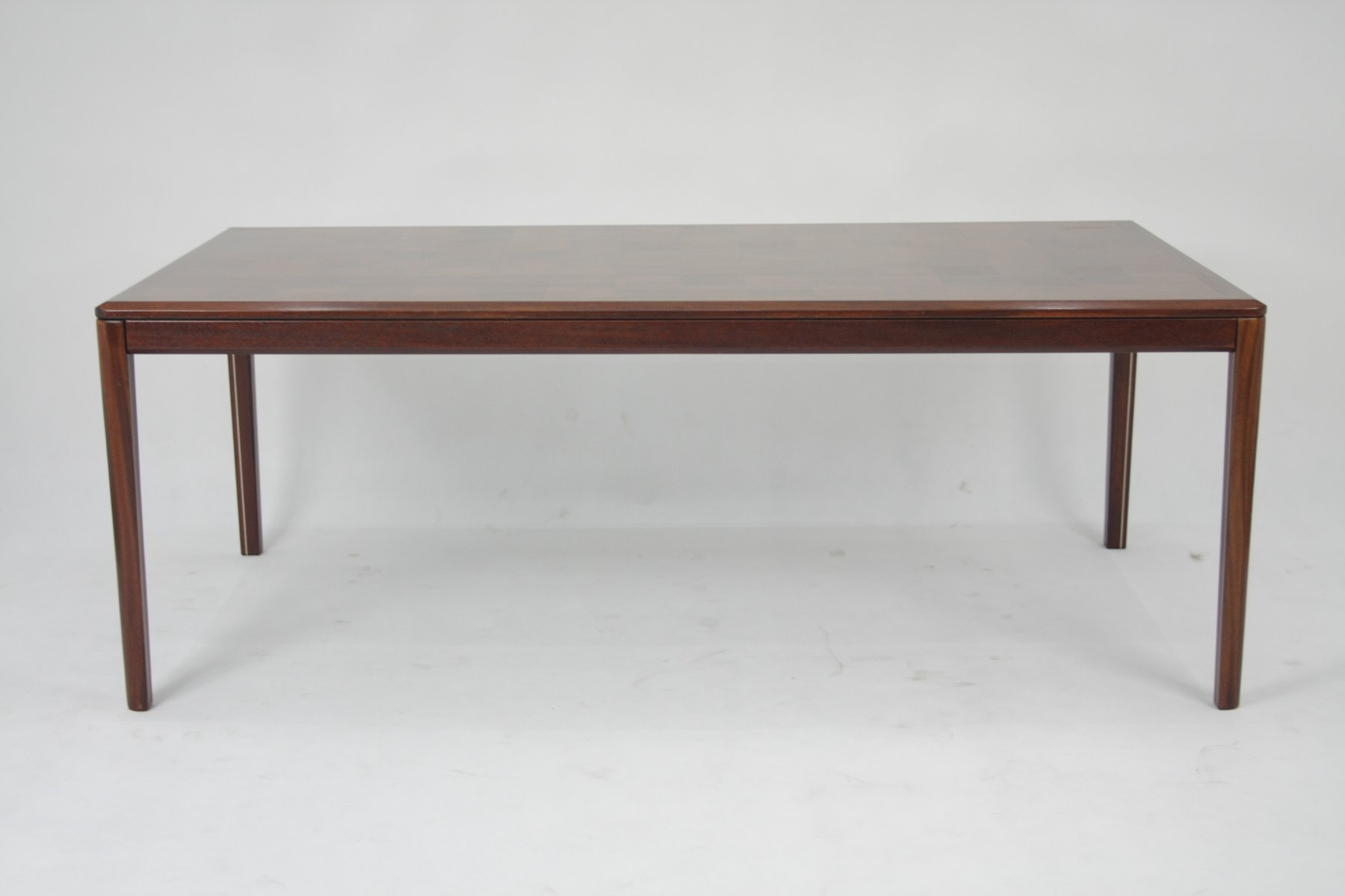 Tisch aus Mahagoni, 1980er