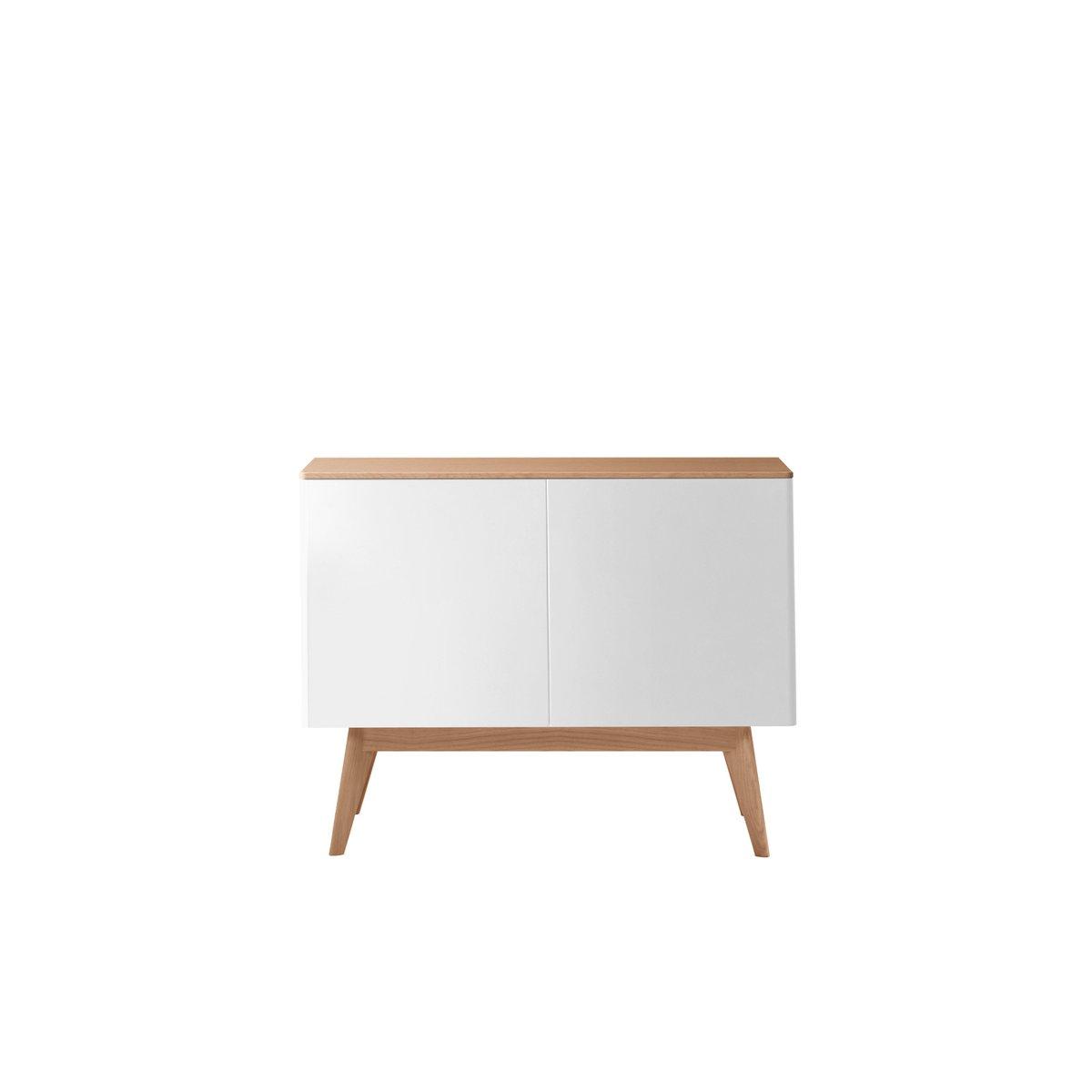 BOC Sideboard aus natürlicher & cremefarben lackierter Eiche von Henri...