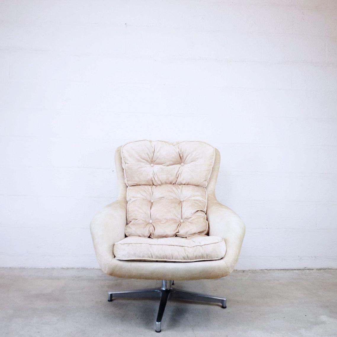 Vintage Form 7 Sessel von Alf Svensson für Dux