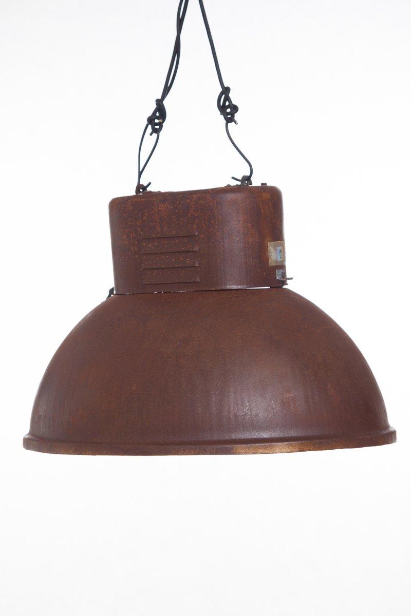Rost-Effekt Industrielampe von Predom Mesko, 1966