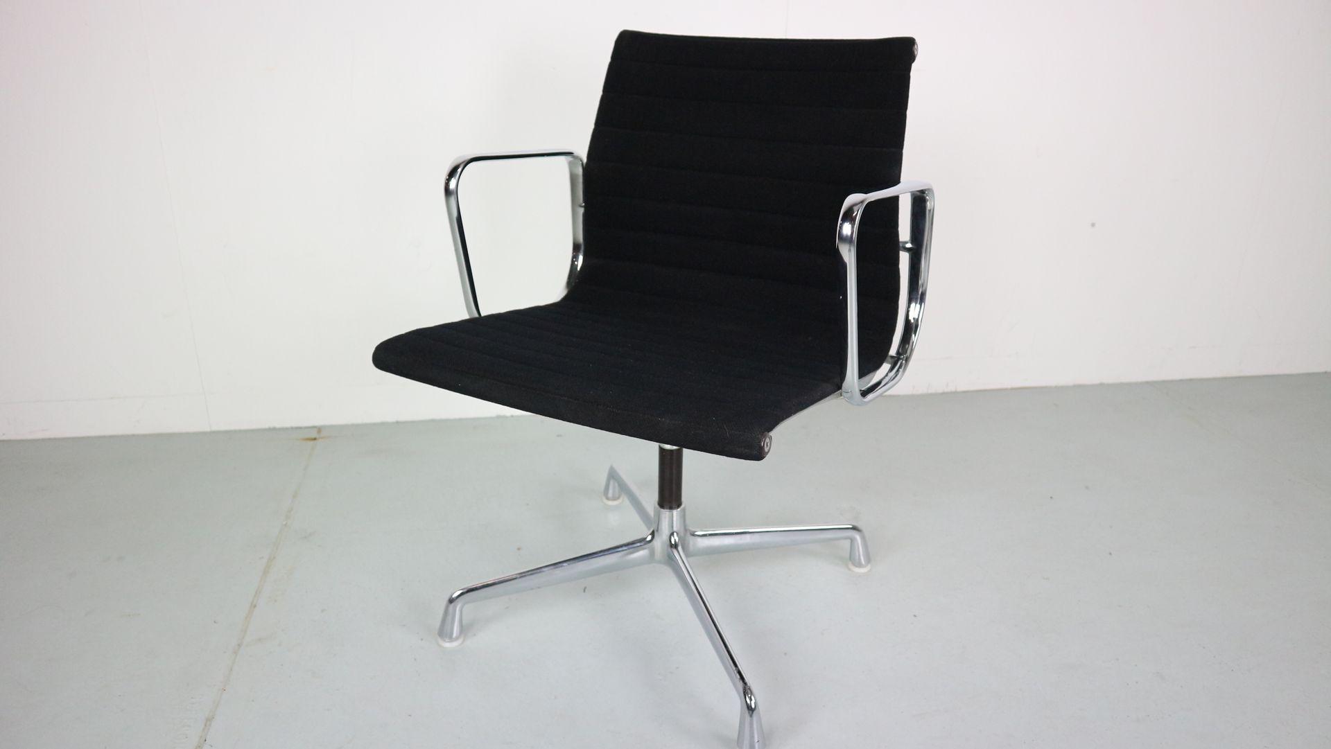 ea108 stuhl aus aluminium von charles ray eames f r vitra 1970er bei pamono kaufen. Black Bedroom Furniture Sets. Home Design Ideas