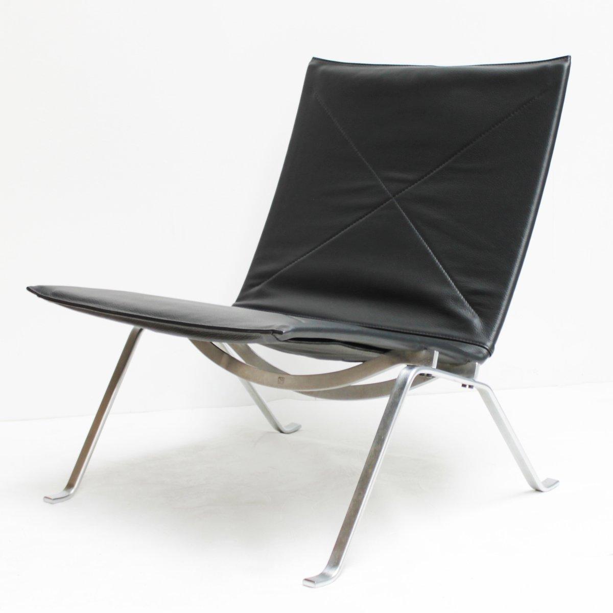 Dänischer PK22 Sessel von Poul Kjaerholm für E. Kold Christensen, 1960...
