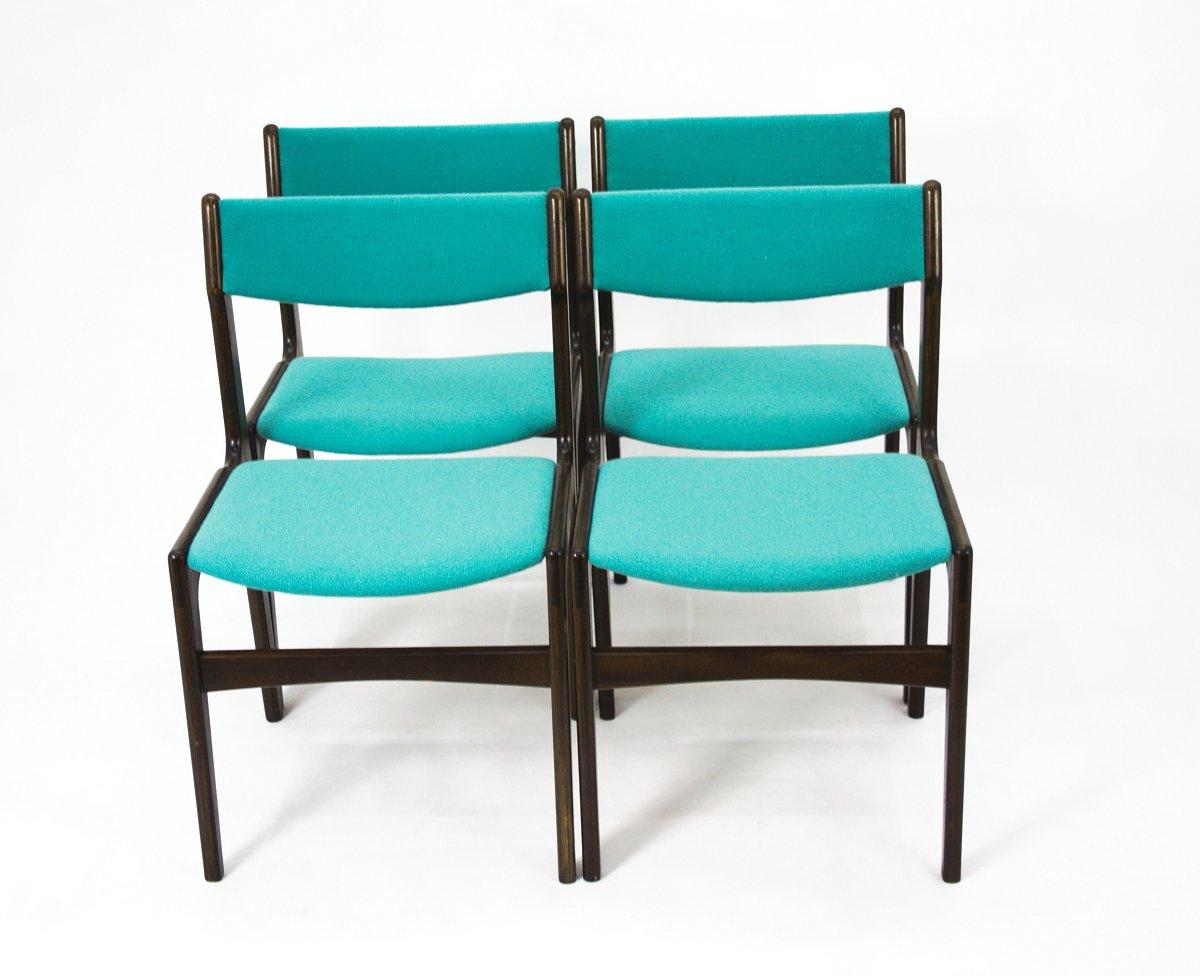 Dänische Vintage Stühle 4er Set Bei Pamono Kaufen