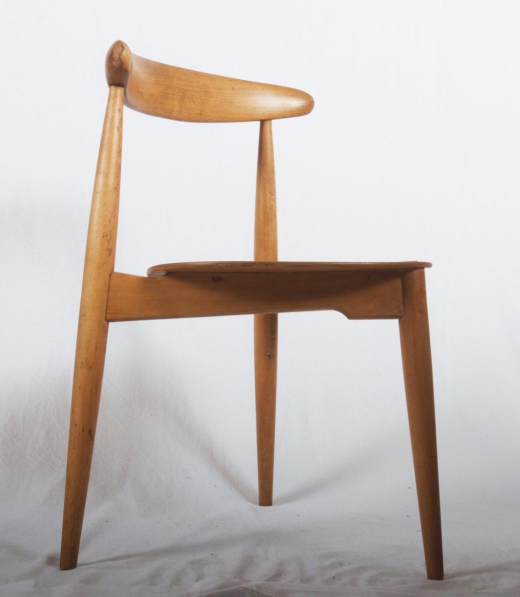 modell fh 4103 stuhl von hans j wegner f r fritz hansen 1952 bei pamono kaufen. Black Bedroom Furniture Sets. Home Design Ideas