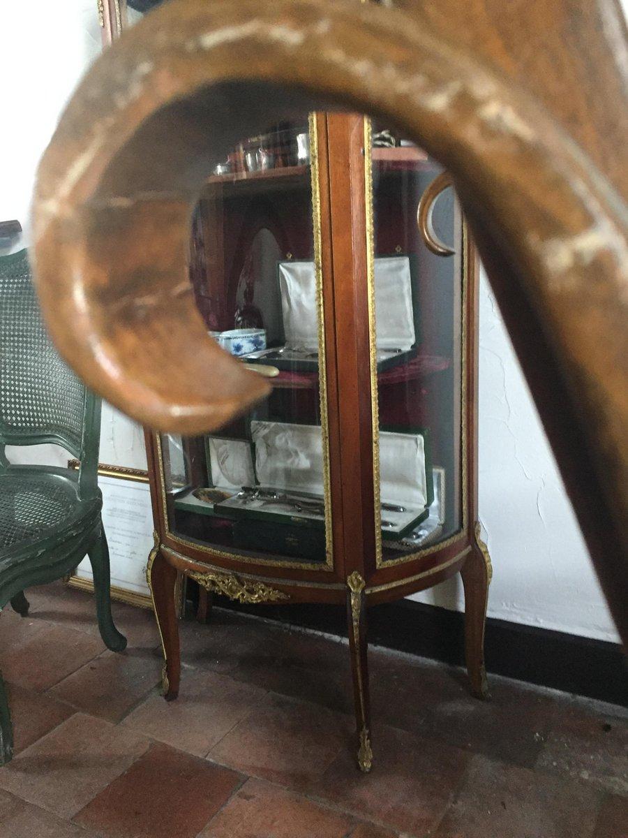 mid century schaukelstuhl aus geschnitztem holz bei pamono kaufen. Black Bedroom Furniture Sets. Home Design Ideas