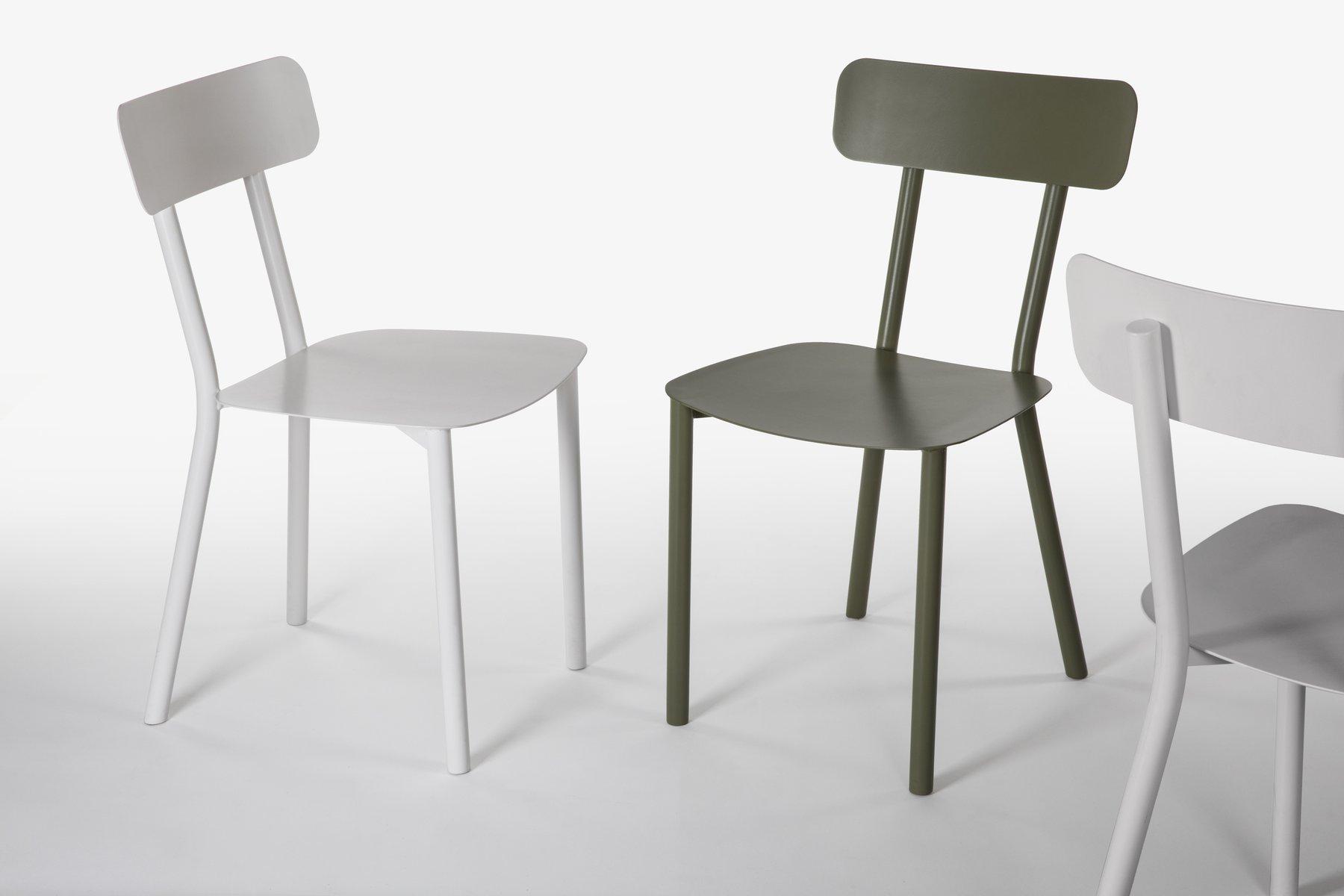 gr ner picto stuhl von elia mangia f r stip bei pamono kaufen. Black Bedroom Furniture Sets. Home Design Ideas