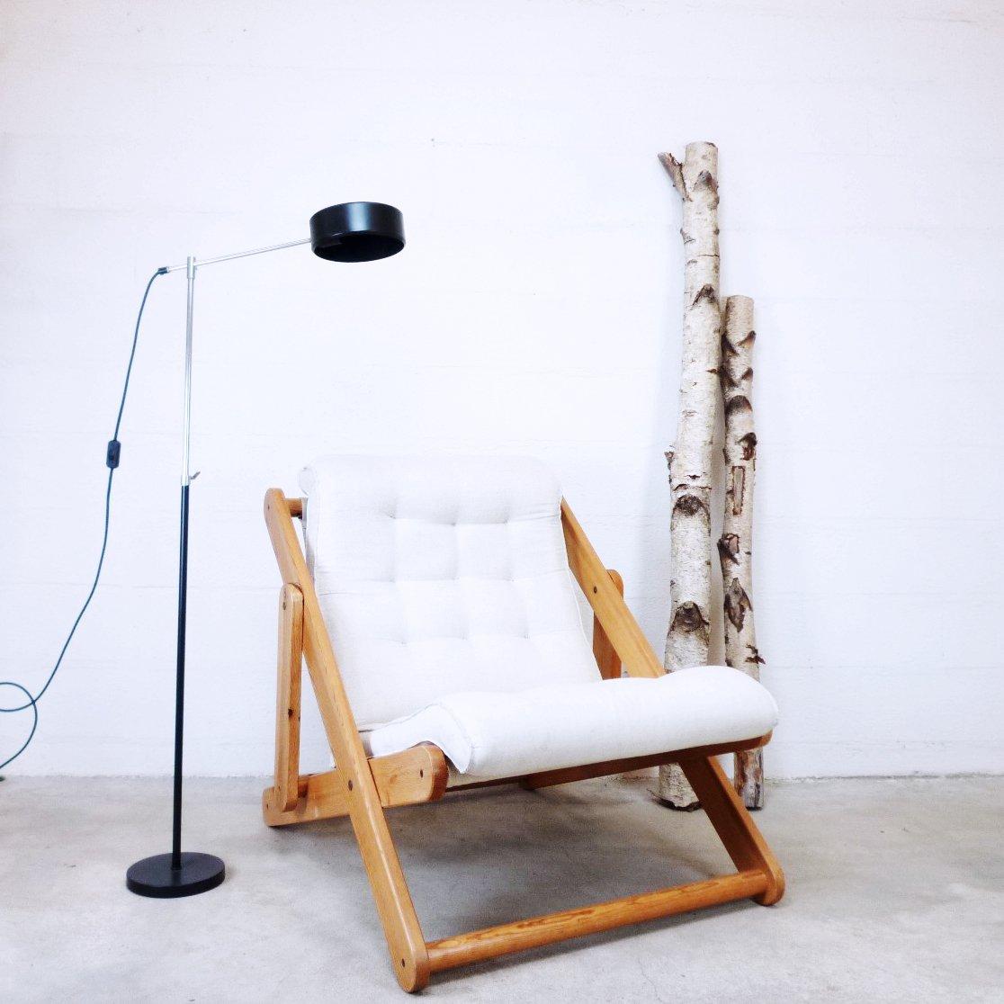 vintage kon tiki sessel von ikea 1970er bei pamono kaufen. Black Bedroom Furniture Sets. Home Design Ideas