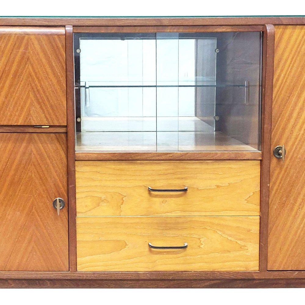 Langes Sideboard langes sideboard, 1960er bei pamono kaufen