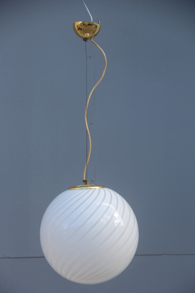 Vintage Murano Glass Ceiling Lamp From Veart For Sale At Pamono