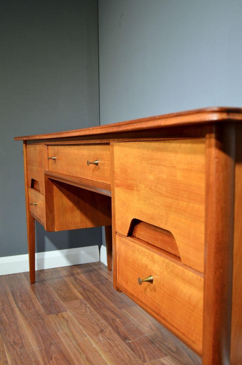 Mid Century Schreibtisch Oder Kommode Aus Nussholz Von A Younger