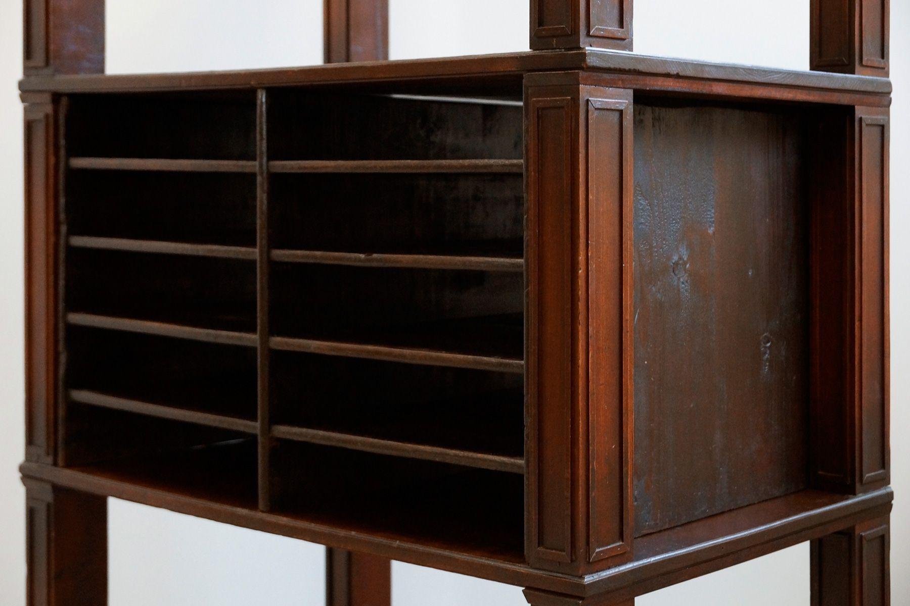 gro es jugendstil regal 1900er bei pamono kaufen. Black Bedroom Furniture Sets. Home Design Ideas