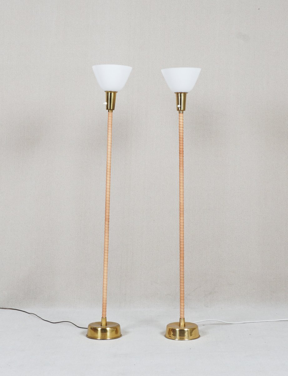 Ihanne Stehlampe von Lisa Johansson-Pape für Orno, 1947, 2er Set