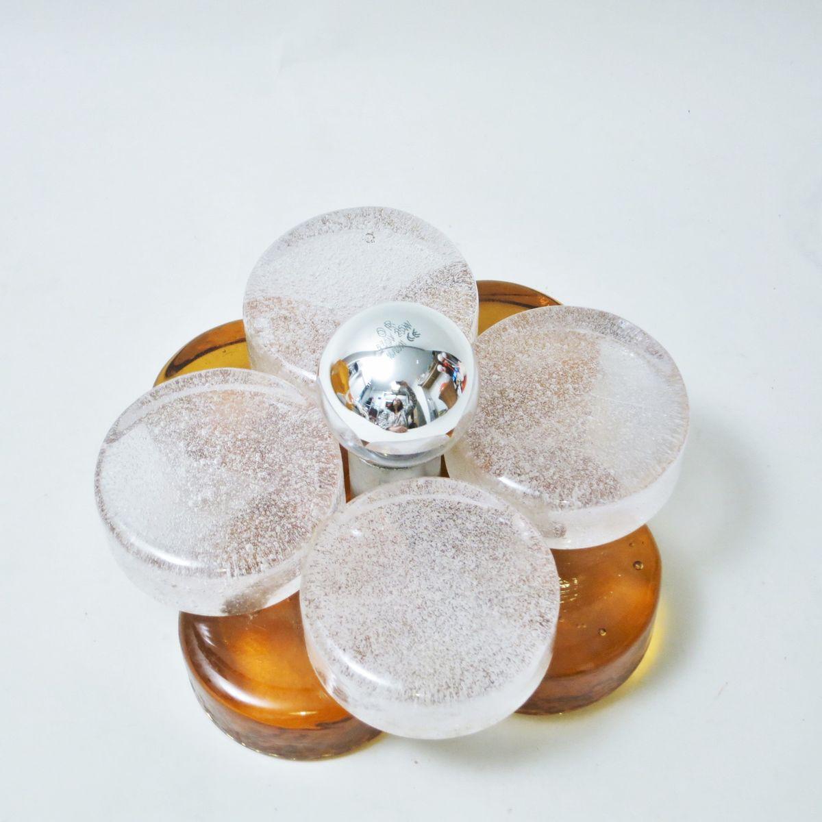 Lampe Fleur Vintage Par Albano Poli Pour Poliarte En Vente Sur Pamono