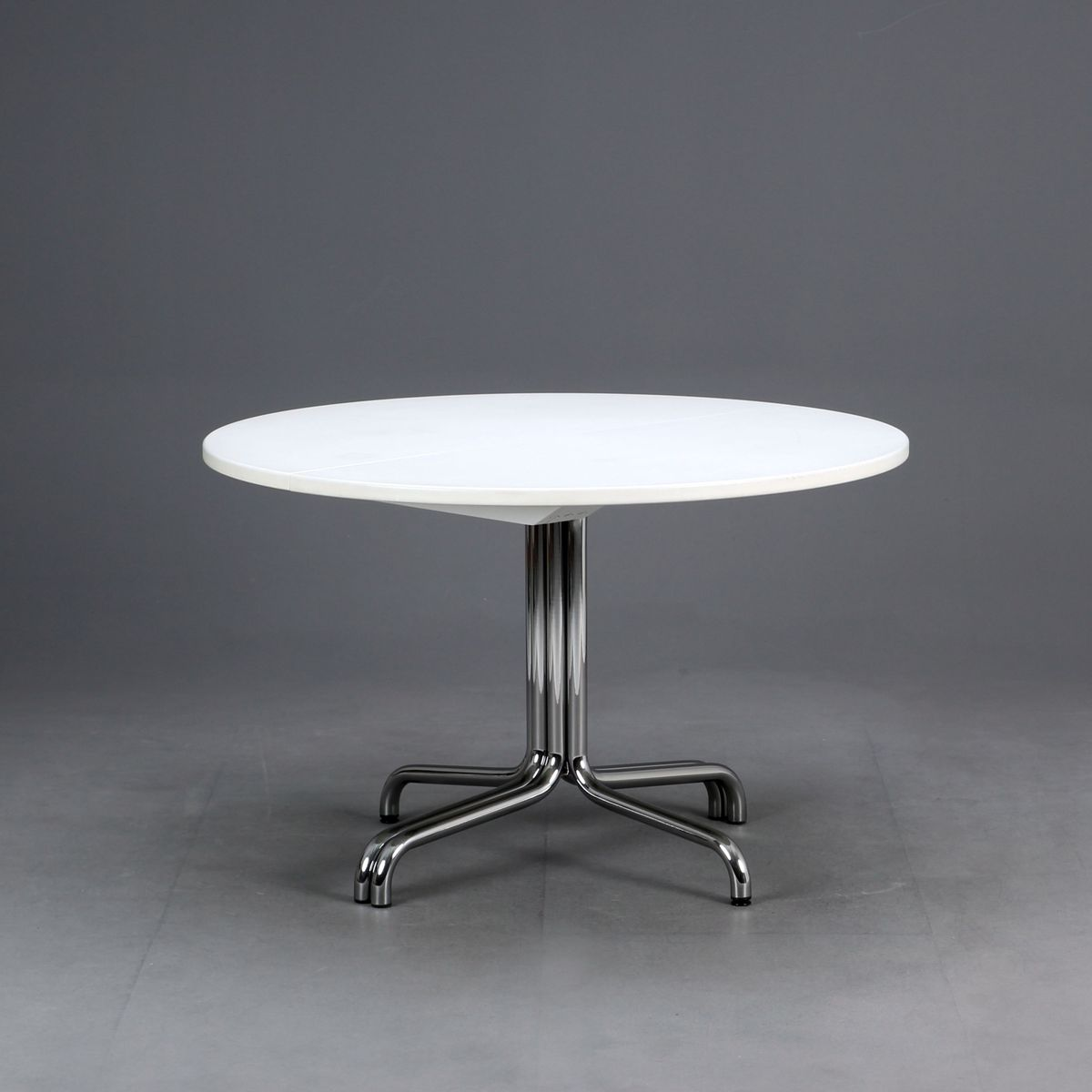 Chromed Steel Extendable S1051 Table from Thonet, 1980s