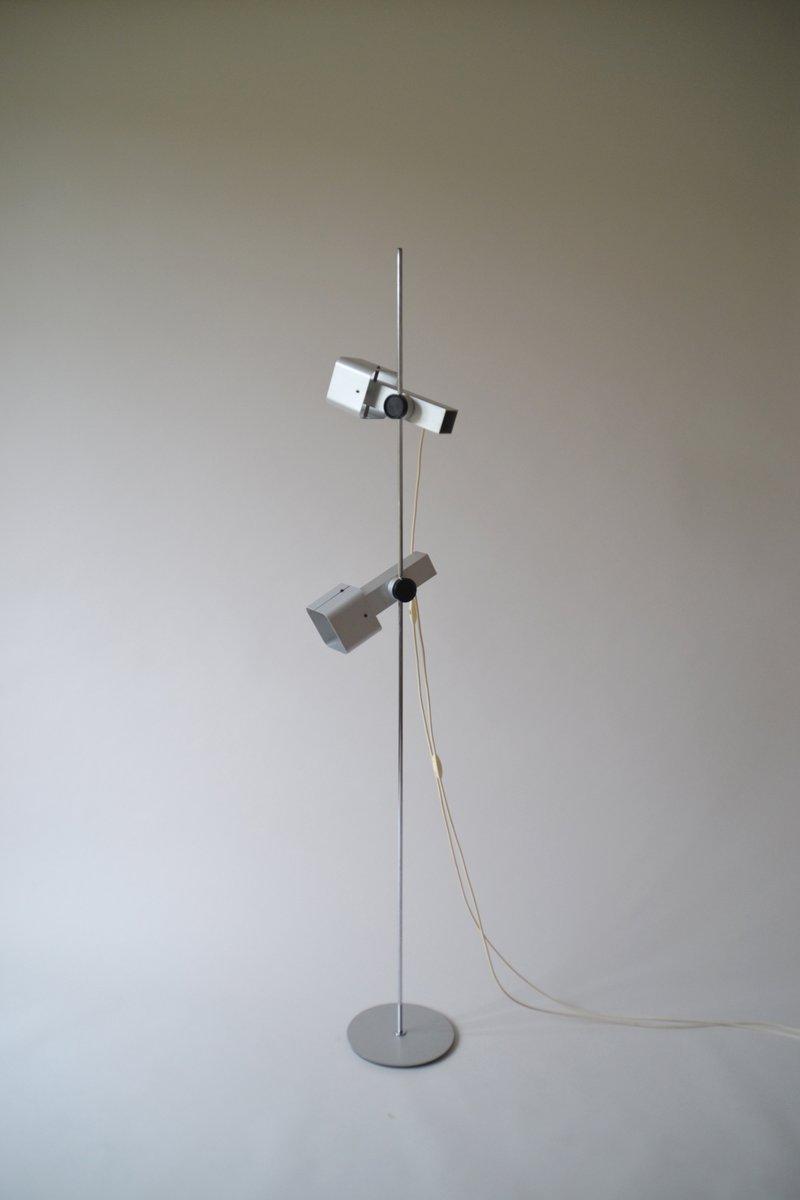 Stehlampe mit zwei Strahlern von Étienne Fermigier für Monix, 1970er