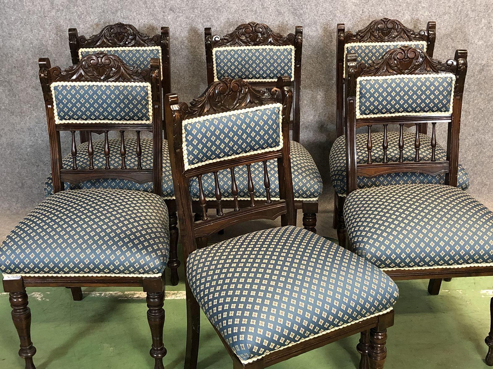 Antike Stühle Aus Mahagoni 6er Set Bei Pamono Kaufen