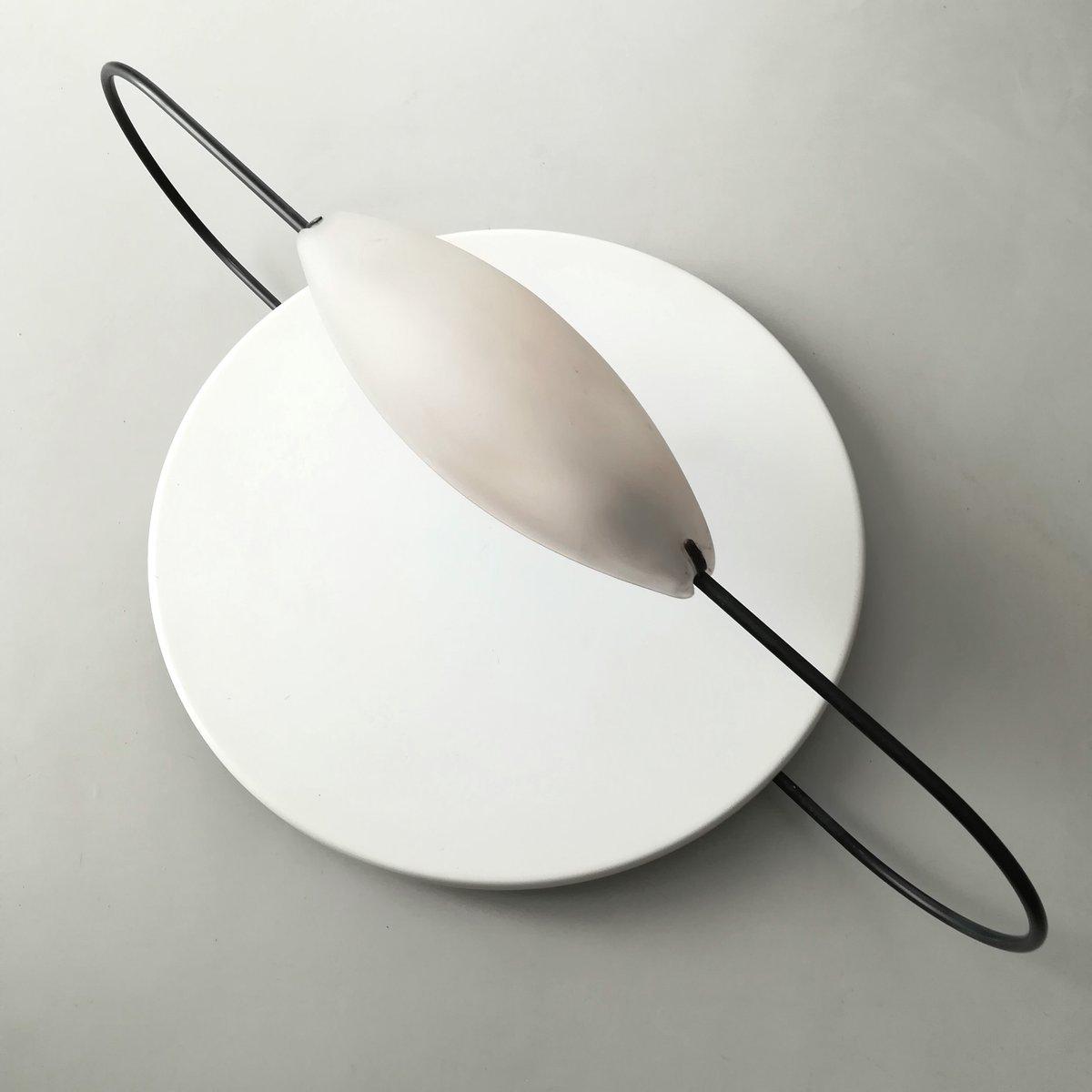 Spilla Decken- oder Wandlampe von Luciano Pagani für Arteluce, 1980er
