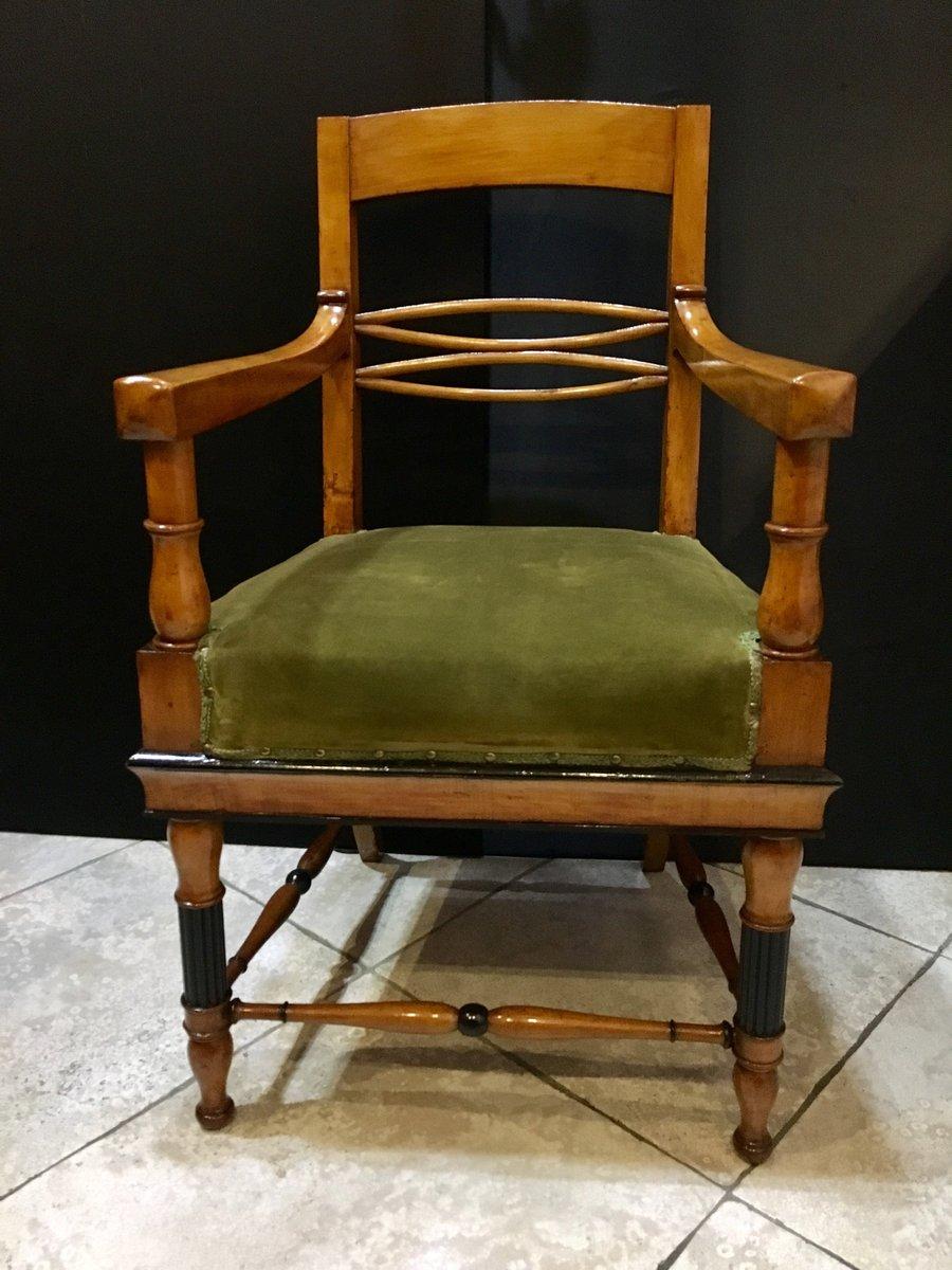 Antique Biedermeier Lounge Chairs, Set of 2 - Antique Biedermeier Lounge Chairs, Set Of 2 For Sale At Pamono
