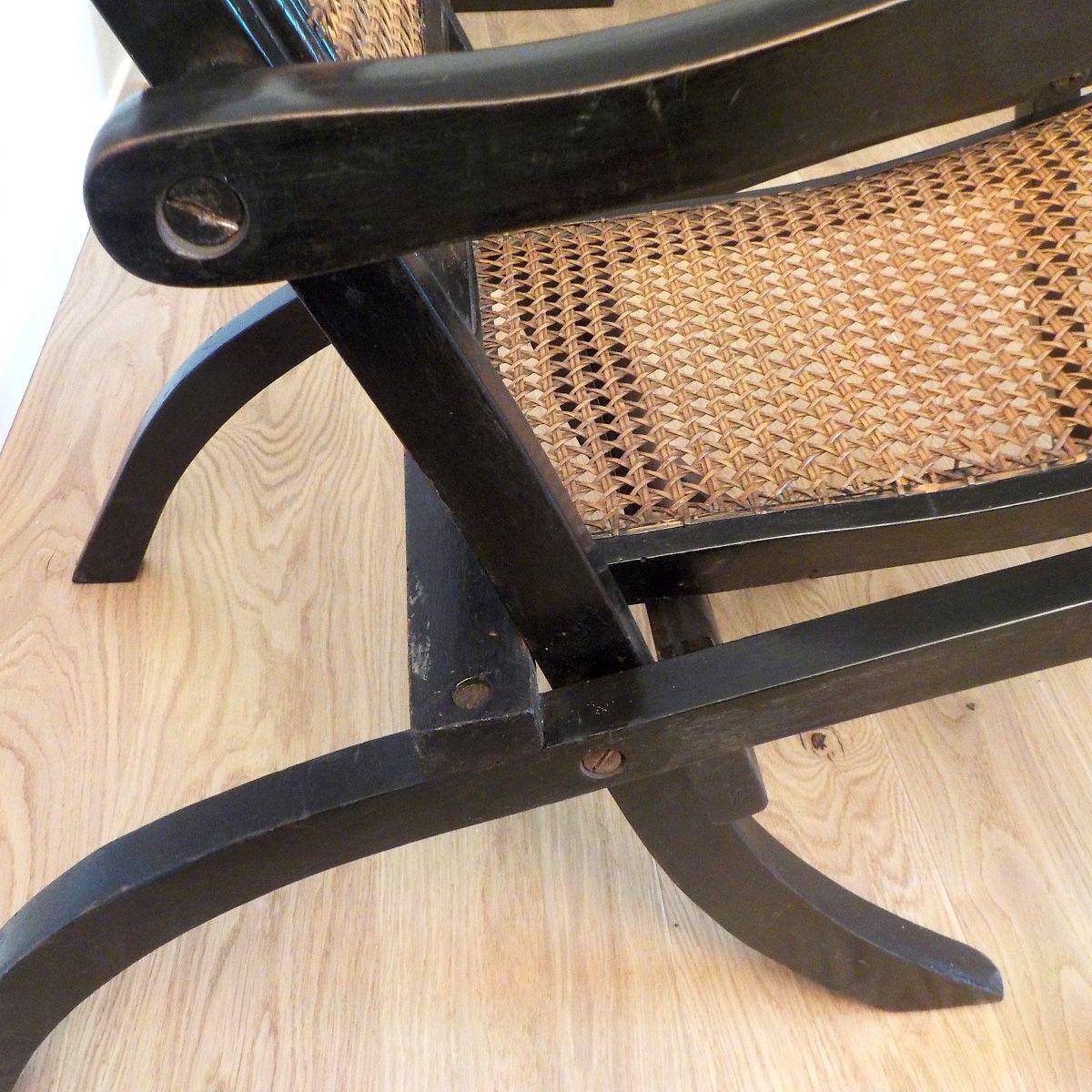 Folding chaise lounge 1920s 8 1763 00 price per piece