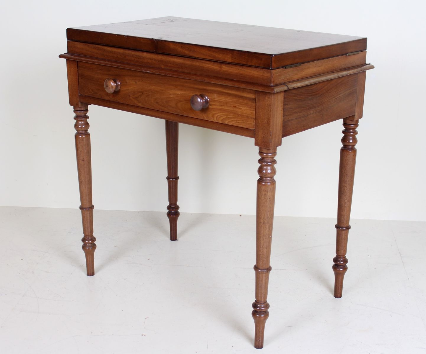 Antique Victorian Fold Out Writing Desk - Antique Victorian Fold Out Writing Desk For Sale At Pamono