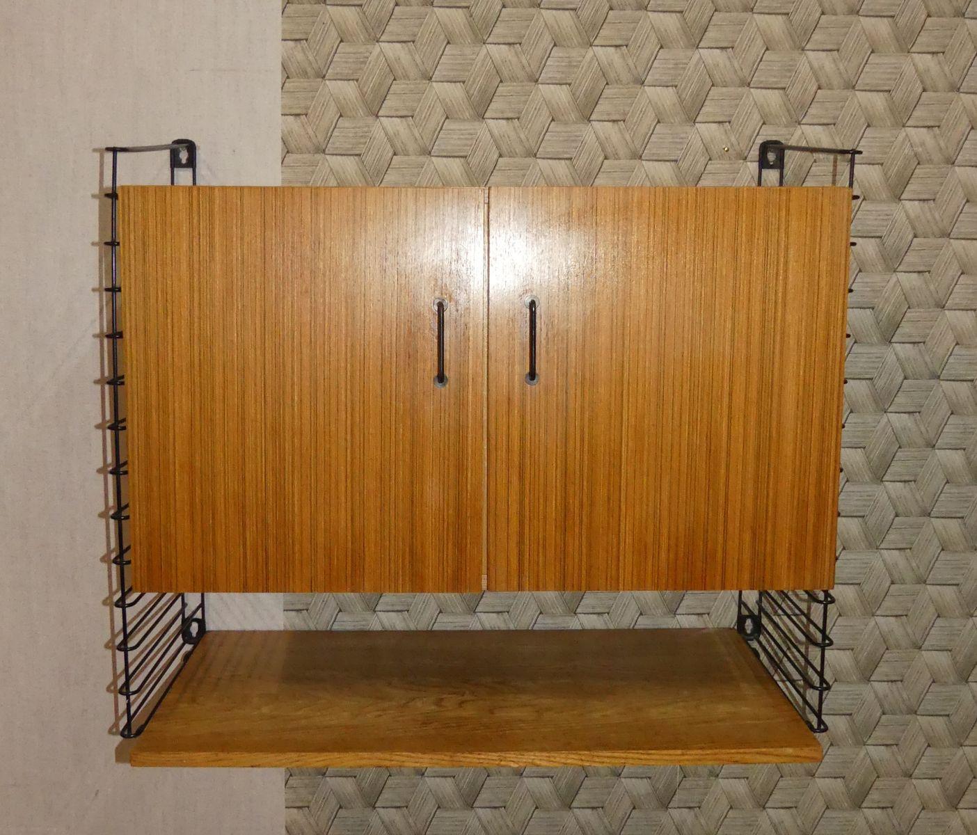 Mid Century Storage Wandregal Von Musterring International Bei