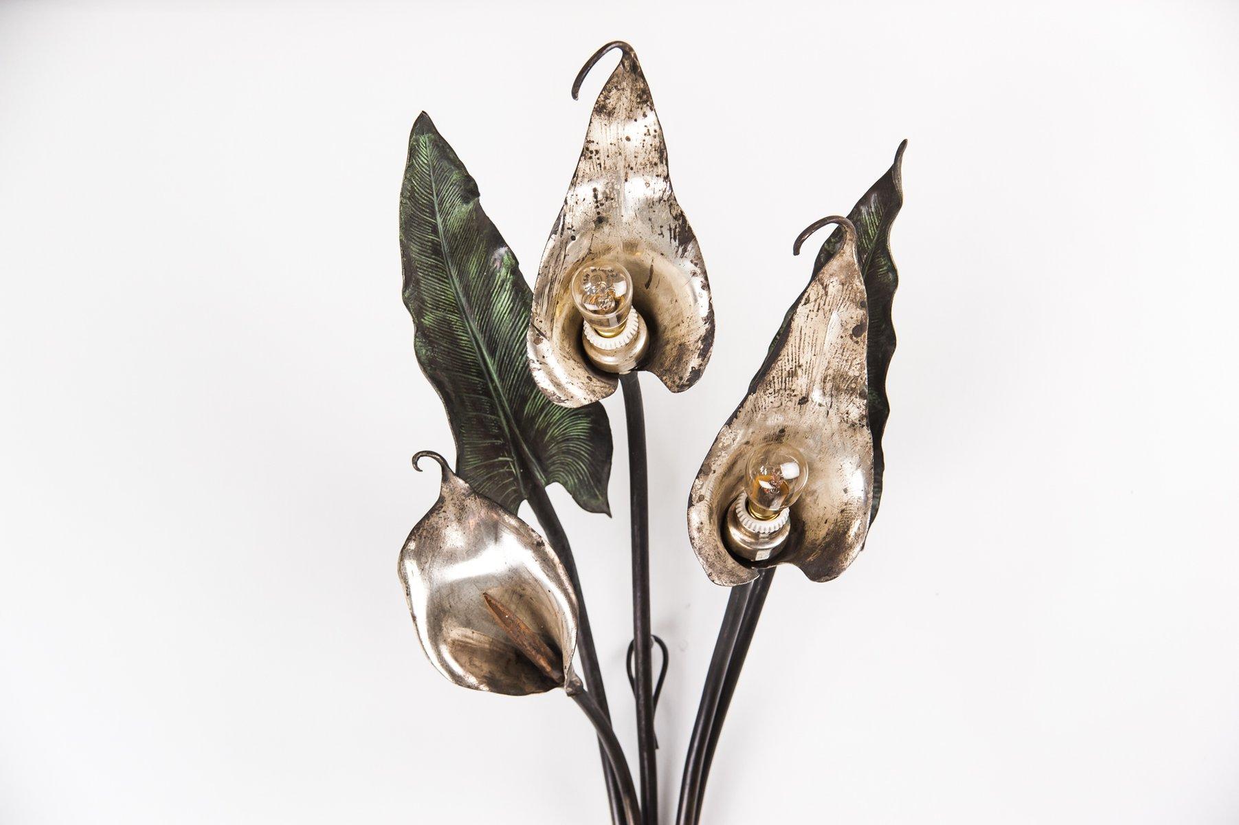 Applique a forma di fiore calla inizio xix secolo in vendita su