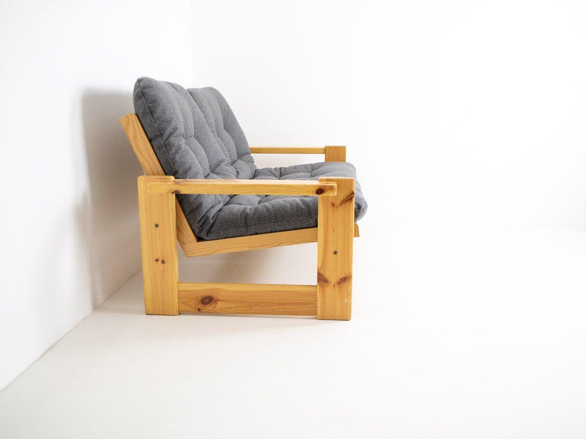 vintage 2 sitzer sofa von yngve ekstr m f r swedese bei. Black Bedroom Furniture Sets. Home Design Ideas