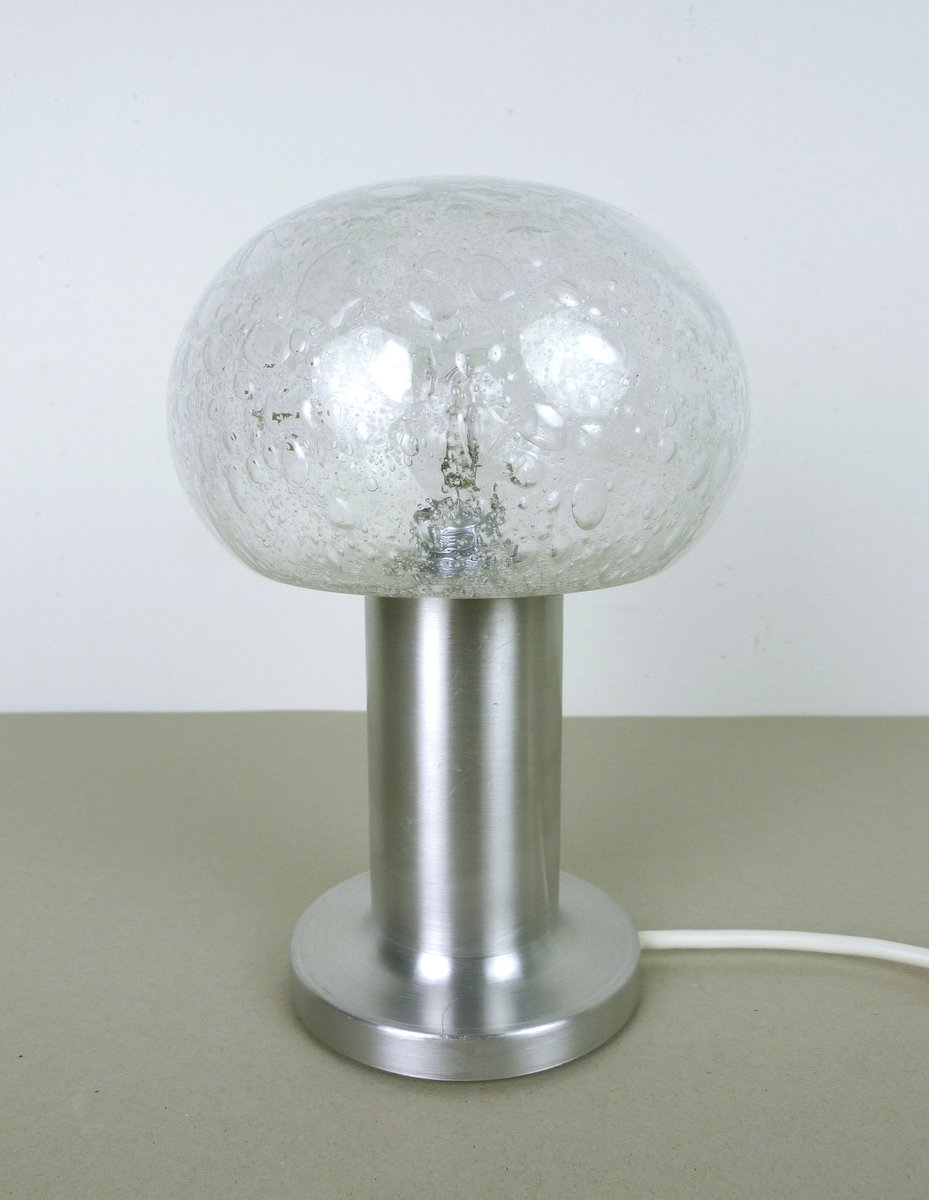 German Bubble Glass Table Lamp From Doria 1960s For Sale At Pamono