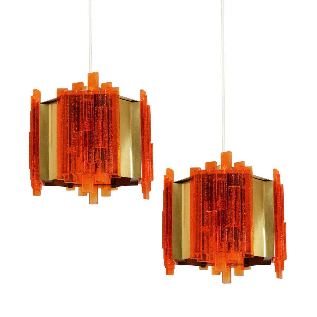 Mid-Century Deckenlampen von Claus Bolby für Cebo Industri, 1960er, 2e...
