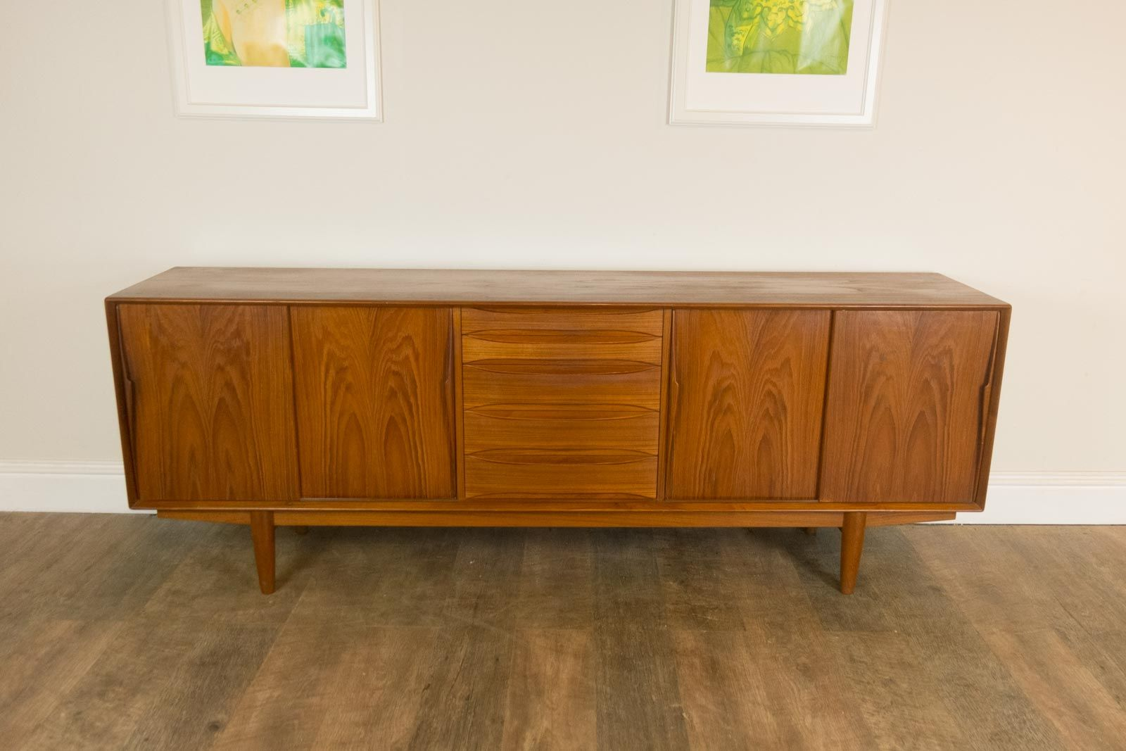 Danish Credenza For Sale : Vintage danish teak sideboard from dyrlund for sale at pamono