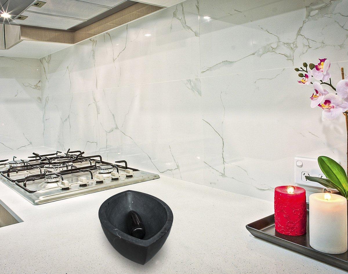 m rser und st el aus schwarzem marmor in augen optik von myop bei pamono kaufen. Black Bedroom Furniture Sets. Home Design Ideas
