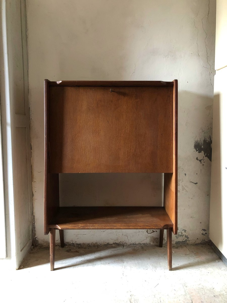 Vintage French Secretaire, 1970s For Sale At Pamono