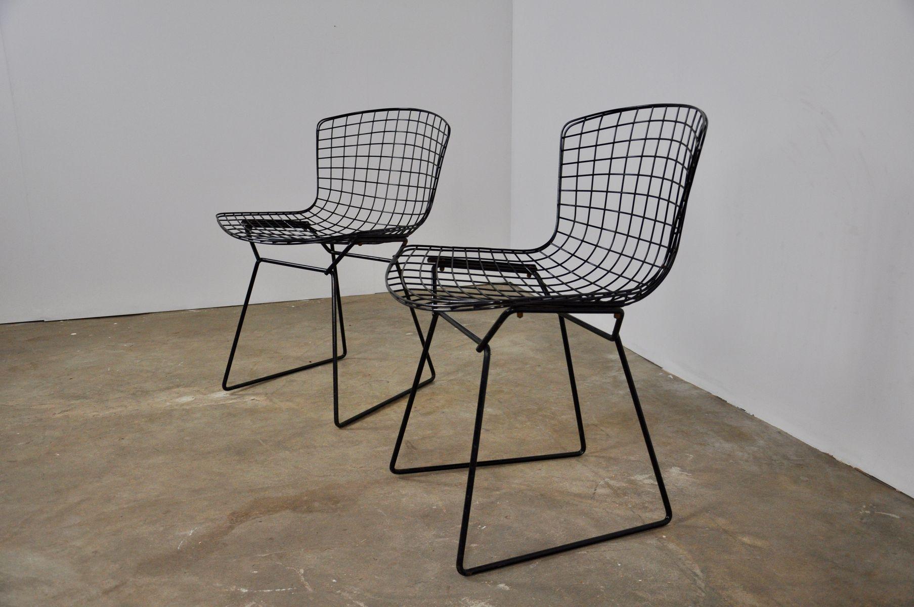 harry bertoia st hle f r knoll international 1952 2er set bei pamono kaufen. Black Bedroom Furniture Sets. Home Design Ideas