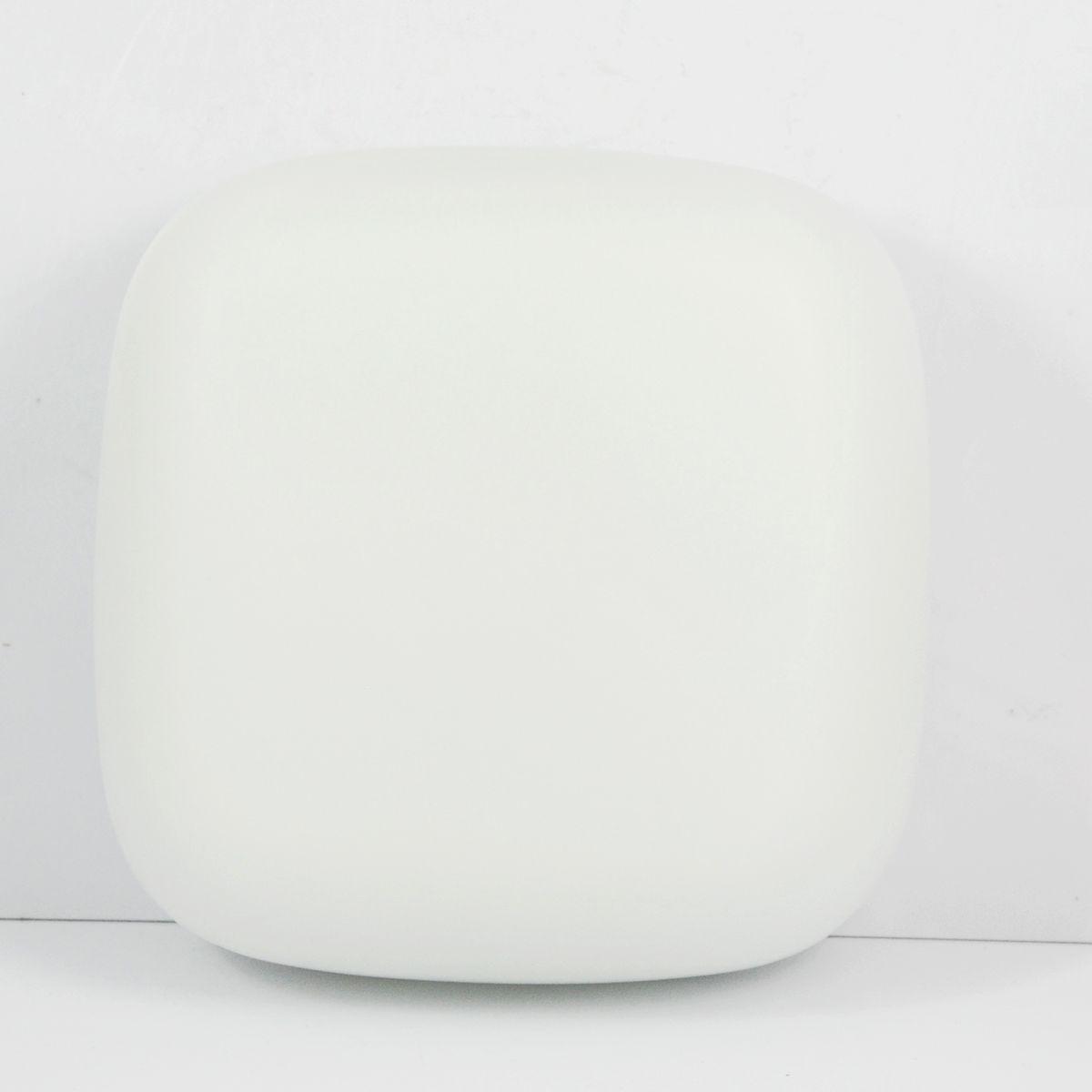 Weiße P-010 Deckenlampe von Polam Wikasy, 1970er