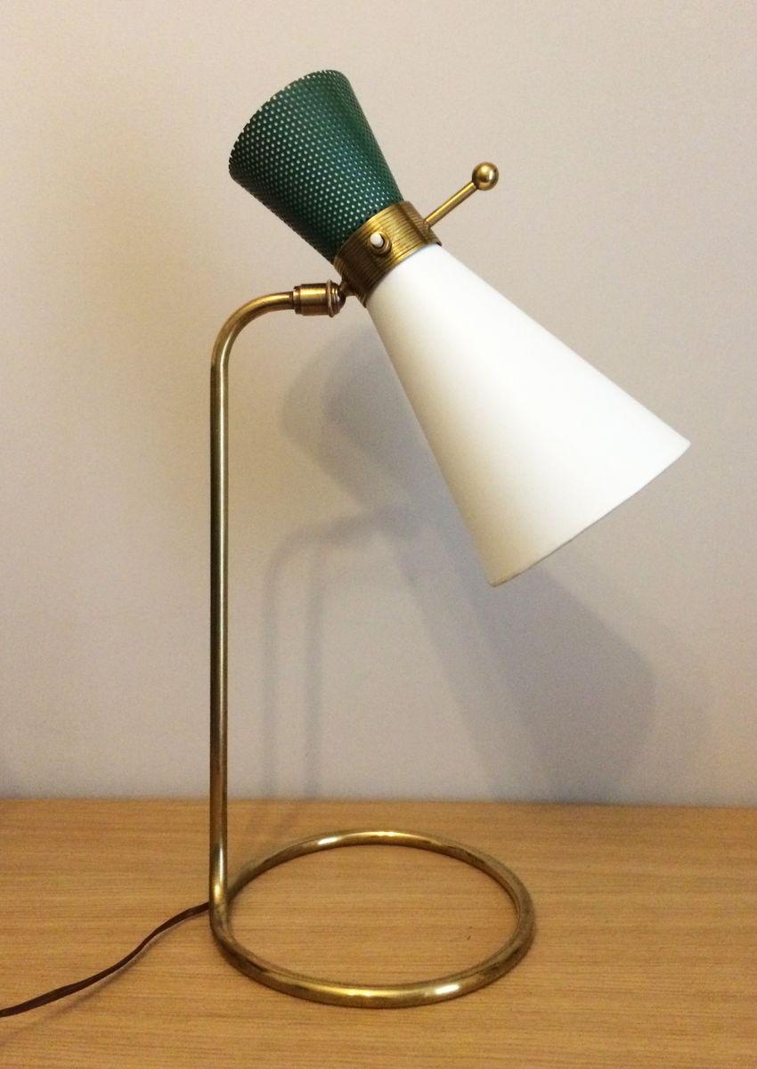 Große Diabolo Lampe von Arlus, 1950er