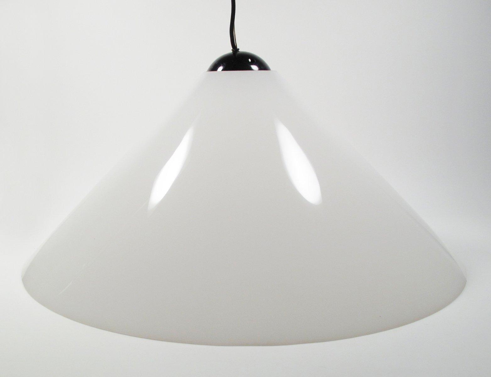 Snow Deckenlampe von Vico Magistretti für Oluce, 1970er