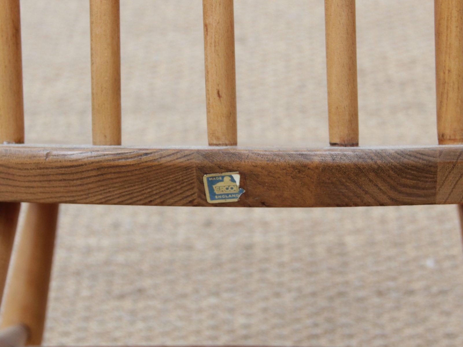 428 quaker schaukelstuhl f r kinder von ercol 1960er bei pamono kaufen. Black Bedroom Furniture Sets. Home Design Ideas