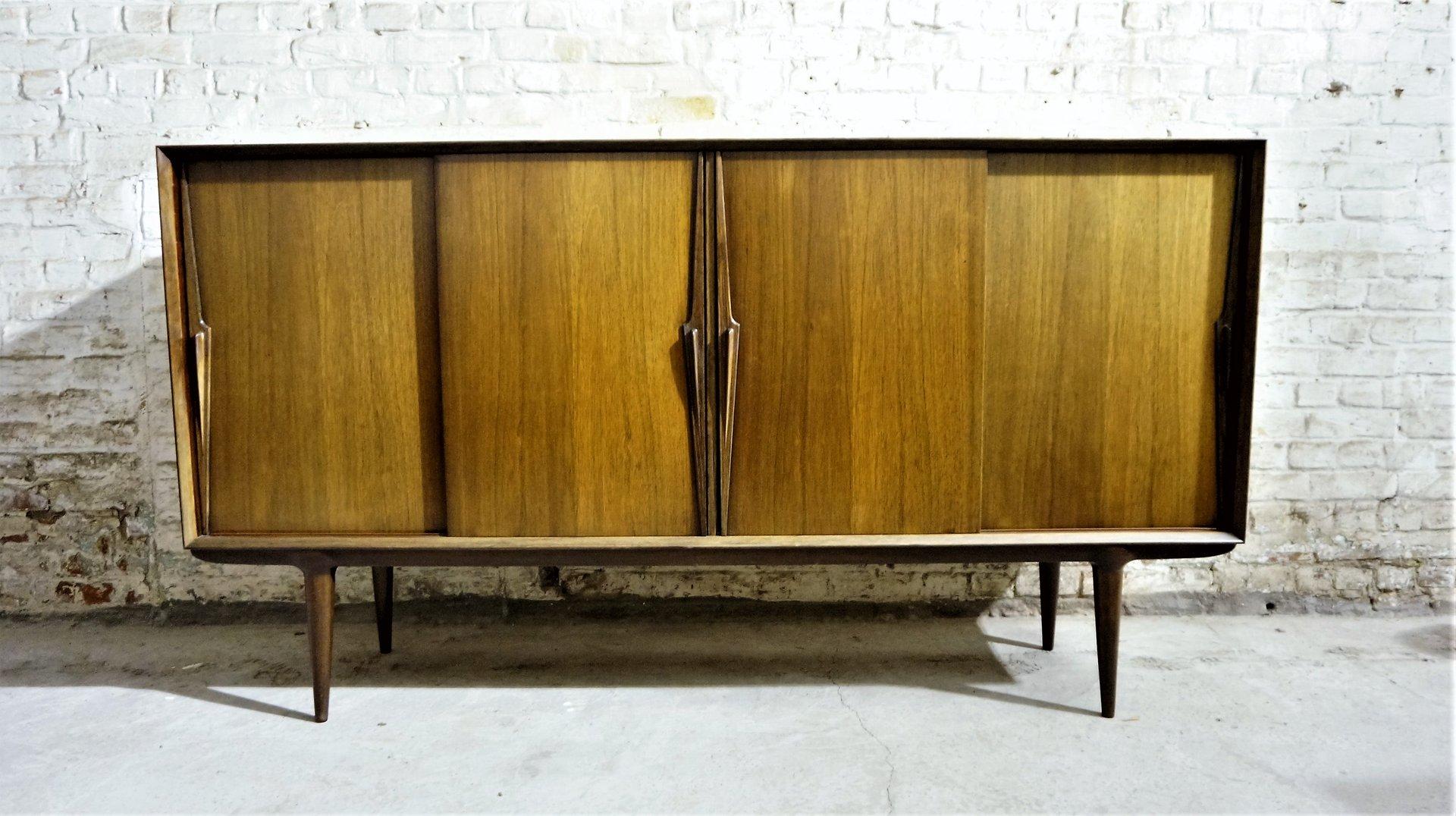 Skandinavisches Vintage Modell 13 Sideboard aus Palisander von Omann J...